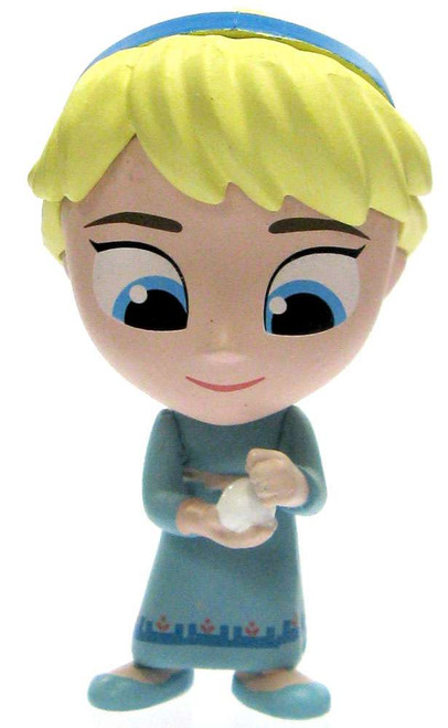 Funko Disney Frozen Mystery Minis Young Elsa 2-Inch 1/12 Mystery Minifigure [Making Snowball Loose]
