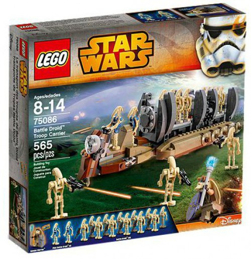 LEGO Star Wars Phantom Menace Battle Droid Troop Carrier Exclusive Set #75086