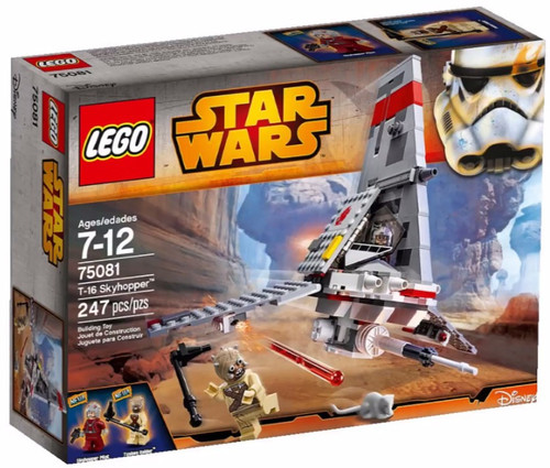 LEGO Star Wars T-16 Skyhopper Set #75081