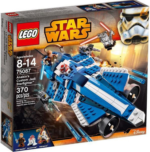 LEGO Star Wars The Clone Wars Anakin's Custom Jedi Starfighter Exclusive Set #75087