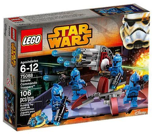 LEGO Star Wars The Clone Wars Senate Commando Troopers Set #75088