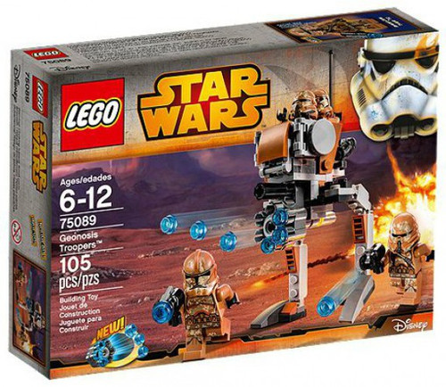 LEGO Star Wars Attack of the Clones Geonosis Troopers Set #75089