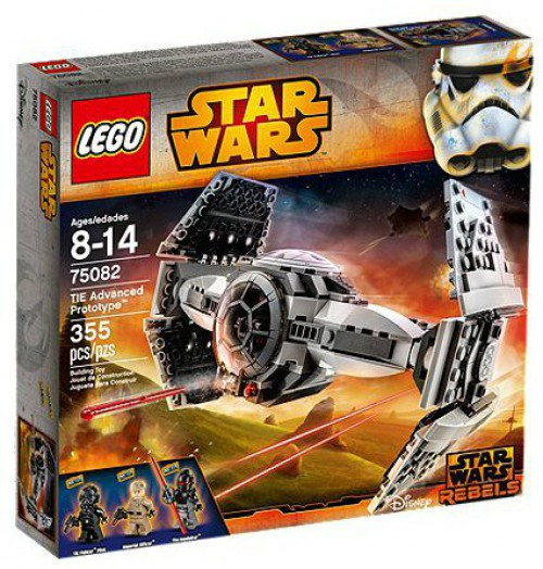 LEGO Star Wars Rebels TIE Advanced Prototype Set #75082