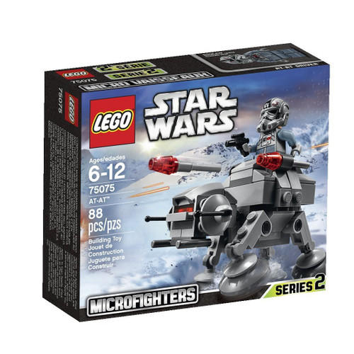 LEGO Star Wars The Empire Strikes Back Microfighters Series 2 AT-AT Set #75075