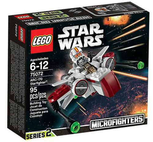 LEGO Star Wars Attack of the Clones Microfighters Series 2 ARC-170 Starfighter Set #75072