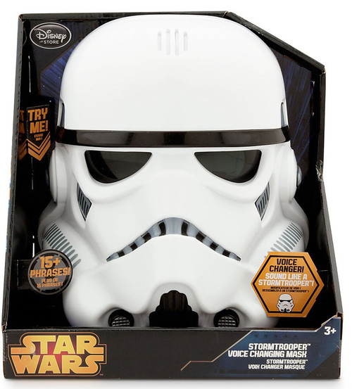 Disney Star Wars Stormtrooper Exclusive Voice Changing Mask