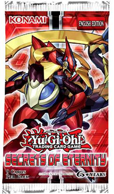 YuGiOh Trading Card Game Secrets of Eternity Booster Pack