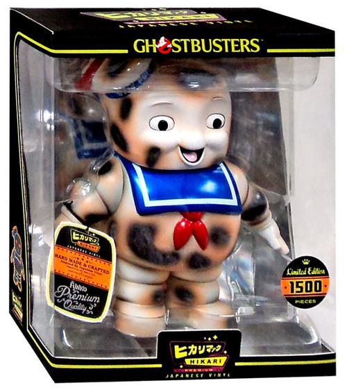 Funko Ghostbusters Hikari Japanese Vinyl Stay Puft Marshmallow Man 8-Inch Vinyl Figure [Burnt]