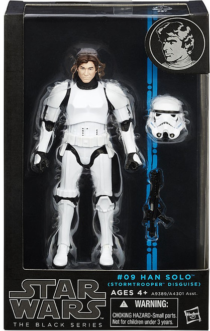 Star Wars A New Hope Black Series Wave 7 Han Solo Action Figure #09 [Stormtrooper Disguise]