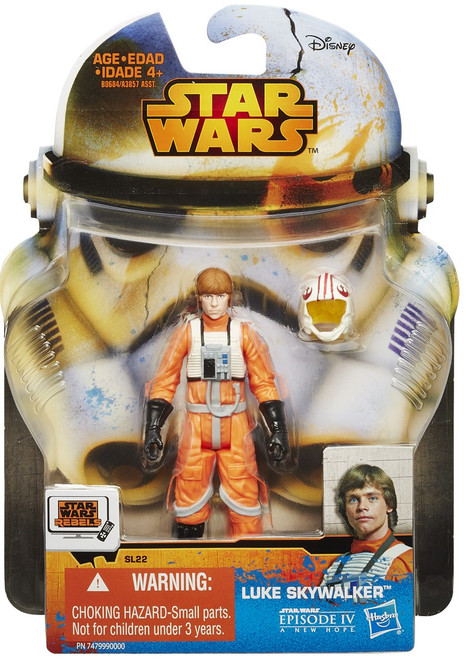 Star Wars A New Hope 2015 Saga Legends Luke Skywalker Action Figure SL22 [Rebel Pilot]