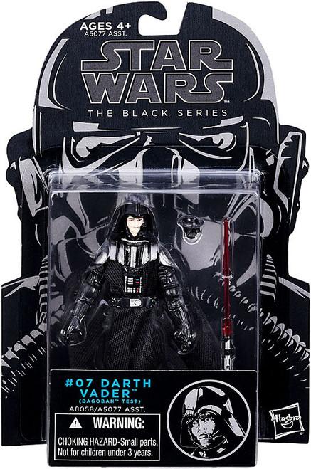 Star Wars The Empire Strikes Back Black Series Darth Vader Action Figure #07 [Dagobah Test]