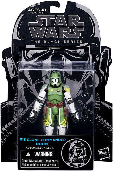 Star Wars The Clone Wars Black Series Clone Commander Doom Action Figure #13