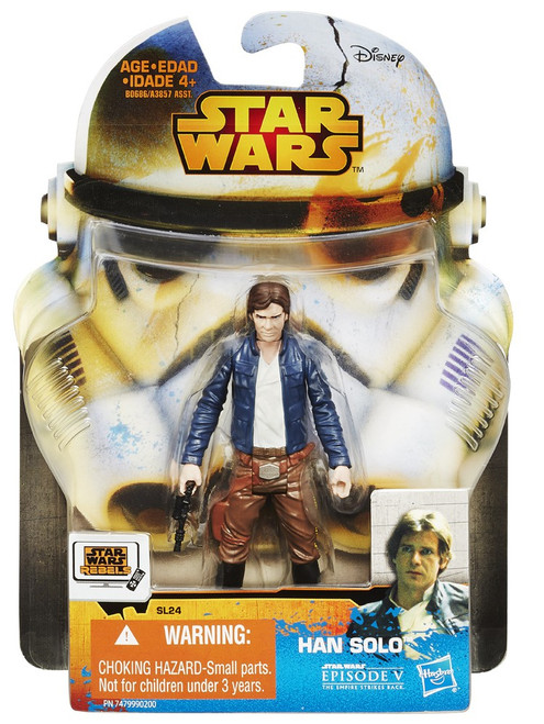 Star Wars The Empire Strikes Back 2015 Saga Legends Han Solo Action Figure SL24 [The Empire Strikes Back]