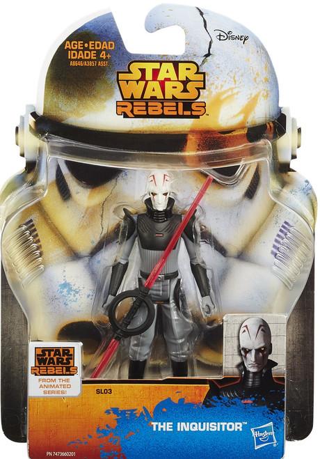 Star Wars Rebels 2015 Saga Legends The Inquisitor Action Figure SL03
