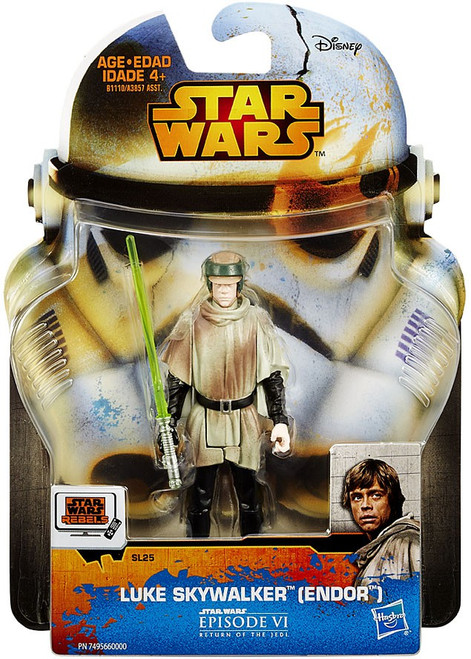 Star Wars Return of the Jedi 2015 Saga Legends Luke Skywalker Action Figure SL25 [Endor]