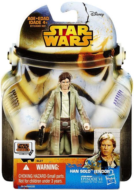 Star Wars Return of the Jedi 2015 Saga Legends Han Solo Action Figure SL27 [Endor]