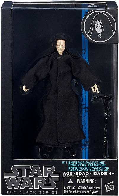 Star Wars Return of the Jedi Black Series Wave 8 Emperor Palpatine Action Figure