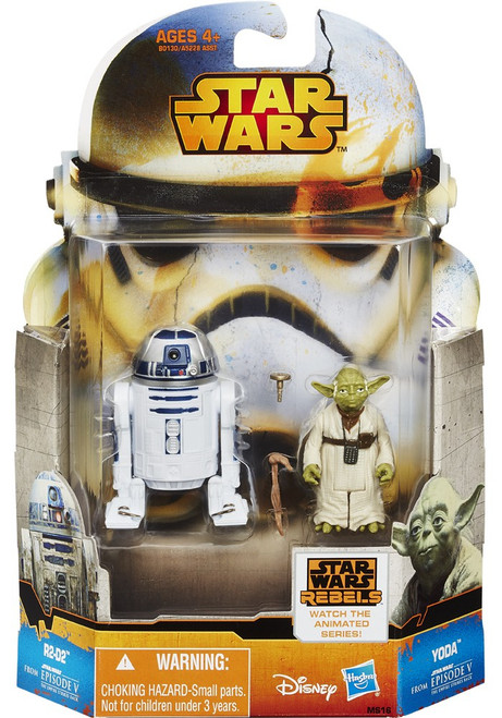 Star Wars The Empire Strikes Back Mission Series R2D2 & Yoda Action Figure MS16