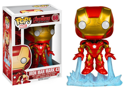 Funko Avengers Age of Ultron POP! Marvel Iron Man Mark 43 Vinyl Figure #66