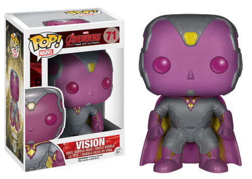 Funko Avengers Age of Ultron POP! Marvel Vision Vinyl Figure #71
