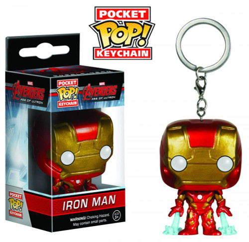 Funko Avengers Age of Ultron POP! Marvel Iron Man Keychain