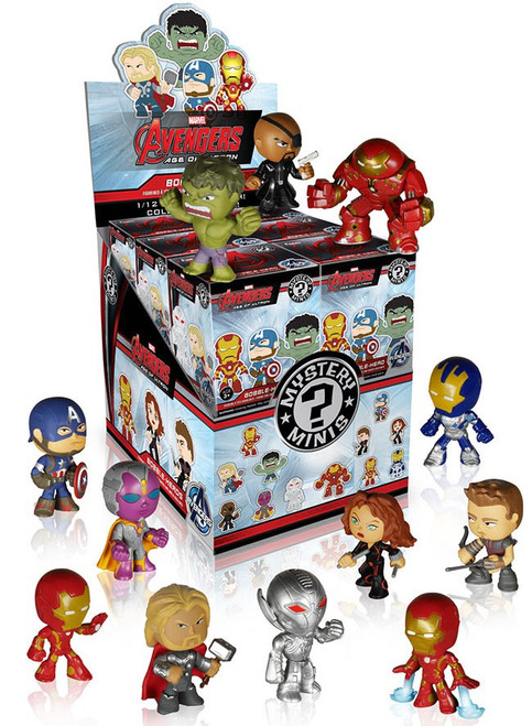 Funko Marvel Mystery Minis Avengers Age of Ultron Mystery Box [12 Packs]