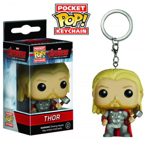 Funko Avengers Age of Ultron POP! Marvel Thor Keychain
