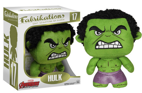Marvel Avengers Age of Ultron Funko Fabrikations Hulk Plush #17