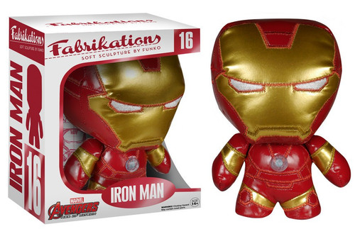 Marvel Avengers Age of Ultron Funko Fabrikations Iron Man Plush #16
