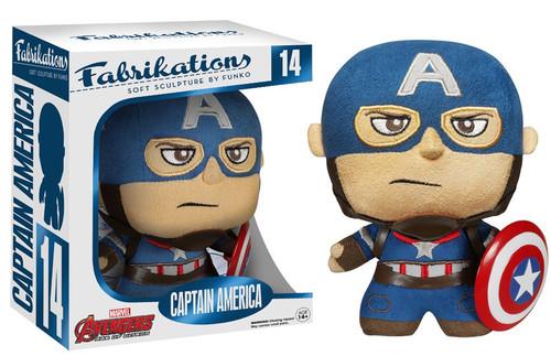 Marvel Avengers Age of Ultron Funko Fabrikations Captain America Plush #14