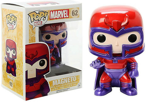 Funko X-Men POP! Marvel Magneto Exclusive Vinyl Bobble Head #62 [Metallic]