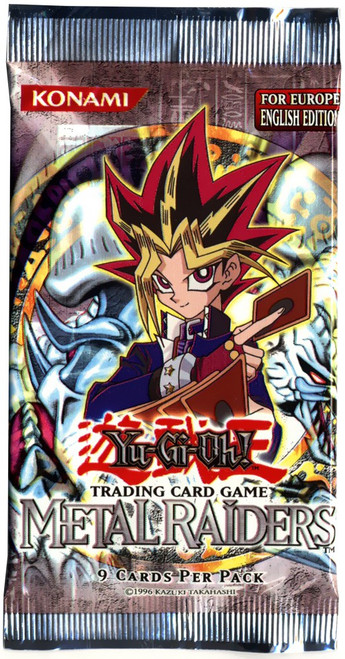 YuGiOh Trading Card Game Metal Raiders Booster Pack [European Version]