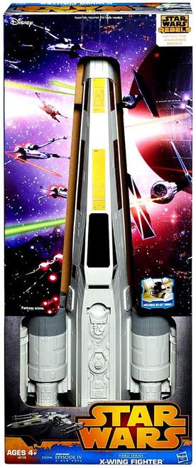 Star Wars Rebels Hero Series X-Wing Fighter Vehicle