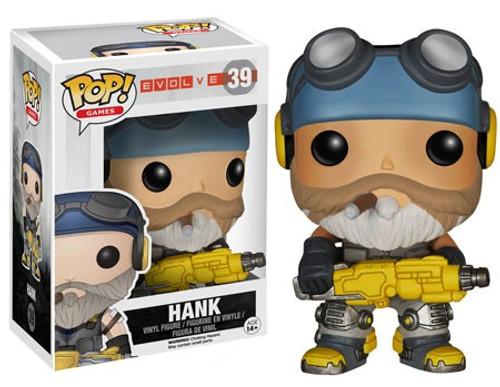 Funko Evolve POP! Games Hank Vinyl Figure #39