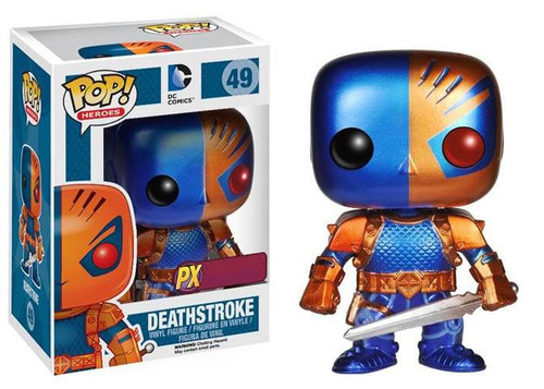 Funko DC POP! Heroes Deathstroke Exclusive Vinyl Figure #49 [Metallic]