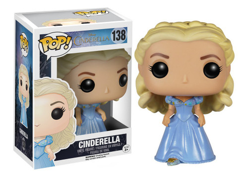 Funko Disney Princess POP! Disney Cinderella Vinyl Figure #138 [Live Action Version]
