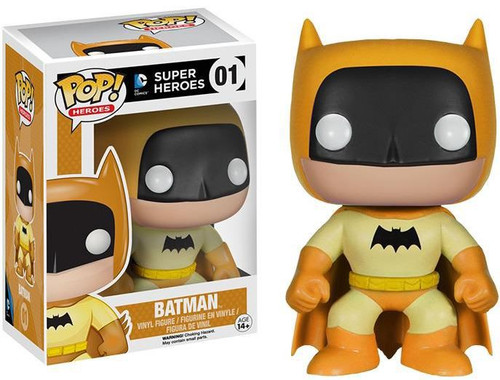 Funko DC Super Heroes POP! Heroes Batman Exclusive Vinyl Figure #01 [75th Anniversary Yellow Rainbow]