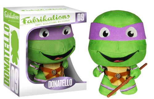 Teenage Mutant Ninja Turtles Funko Fabrikations Donatello 6-Inch Plush #09