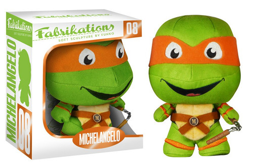 Teenage Mutant Ninja Turtles Funko Fabrikations Michelangelo 6-Inch Plush #08