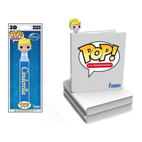 Funko Disney Princess POP! 3-D Bookmarks Cinderella Bookmark