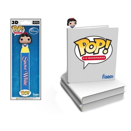 Funko Disney Princess POP! 3-D Bookmarks Snow White Bookmark