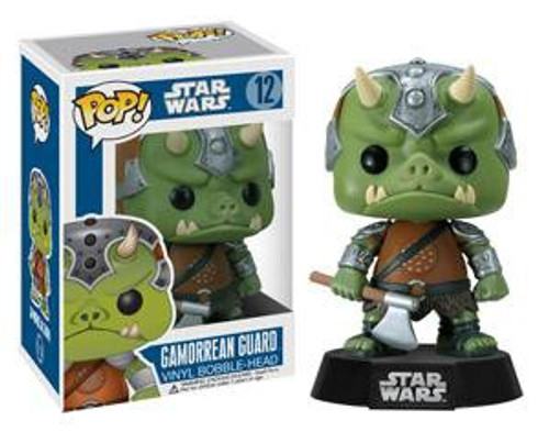 Funko POP! Star Wars Gamorrean Guard Vinyl Bobble Head #12 [Blue Box Damaged Package]