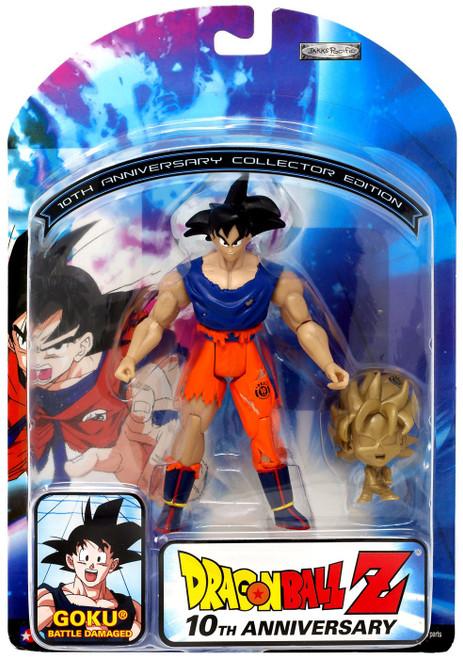 Dragon Ball Z 10th Anniversary Goku Action Figure [Battle Damaged]