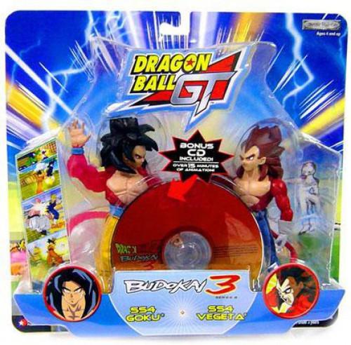 Dragon Ball GT SS4 Goku vs. SS4 Vegeta Action Figure 2-Pack