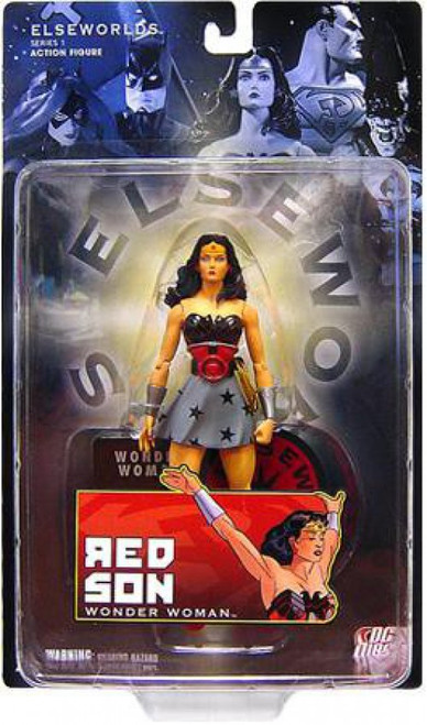 DC Elseworlds Series 1 Red Son Wonder Woman Action Figure