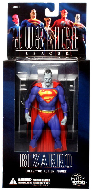DC Superman Alex Ross Justice League Series 1 Bizarro Action Figure