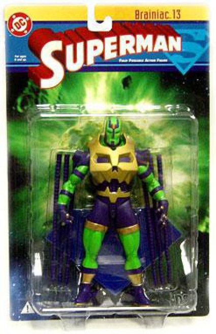DC Superman Series 1 Brainiac 13 Action Figure