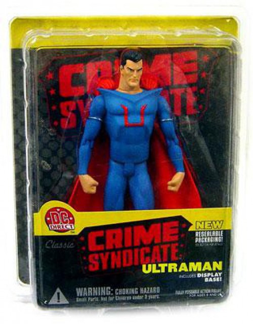 DC Crime Syndicate Ultraman Action Figure
