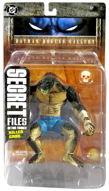 Secret Files Series 1 Batman Rogues Gallery Killer Croc Action Figure