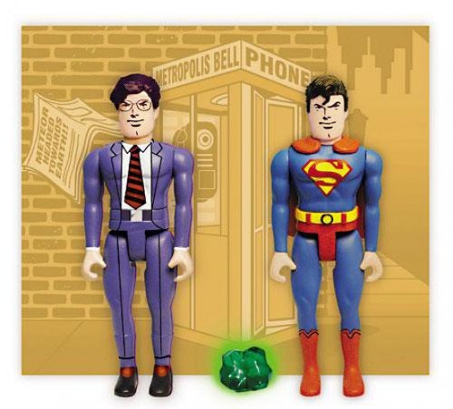 DC Pocket Super Heroes Superman & Clark Kent Action Figure 2-Pack